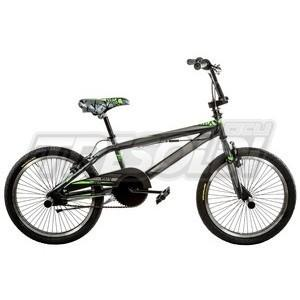 "TRS BMX FREESTYLE 20"" ACC. - ANTRACITE/VERDE"