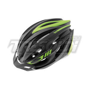 CASCO VISTA RAPTOR NERO/VERDE