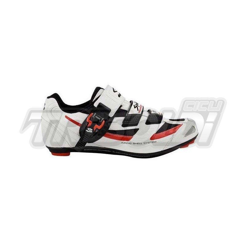 Scarpe Corsa Spiuk Zs11r Cricchetto Bianco/nero/rosso