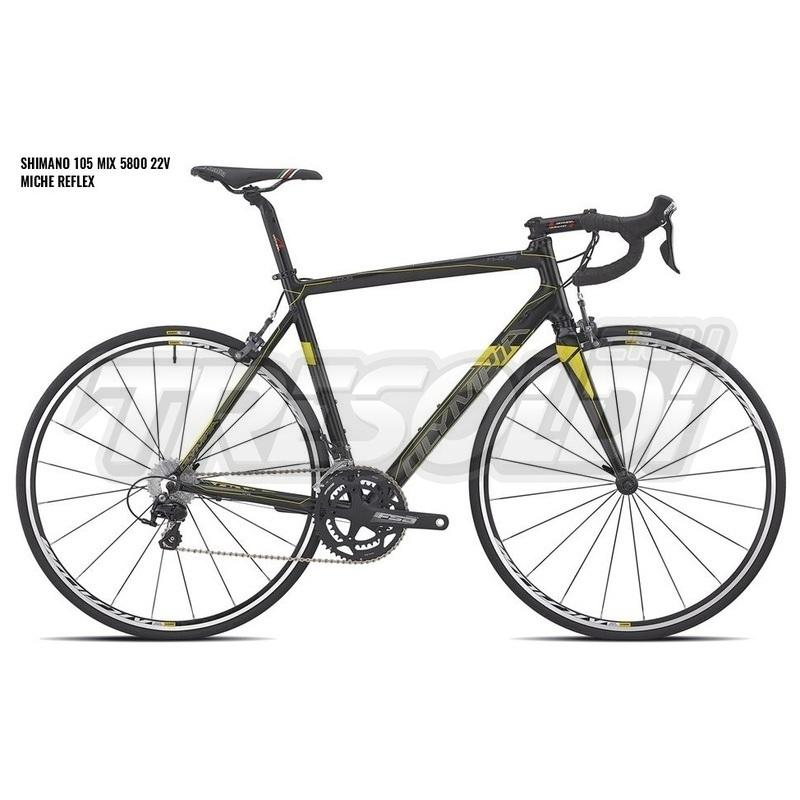 Olympia Khers 105 5800 Mix 22v Reflex 08 Nero/giallo