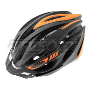 CASCO VISTA RAPTOR NERO/ARANCIO