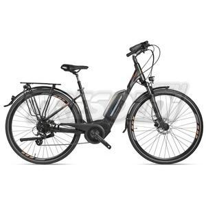 "NSR E-BIKE WAVE WOMAN D 28"" - PERFORMANCE CX 500 - DEORE 10V - DISK IDR ML - NERO"