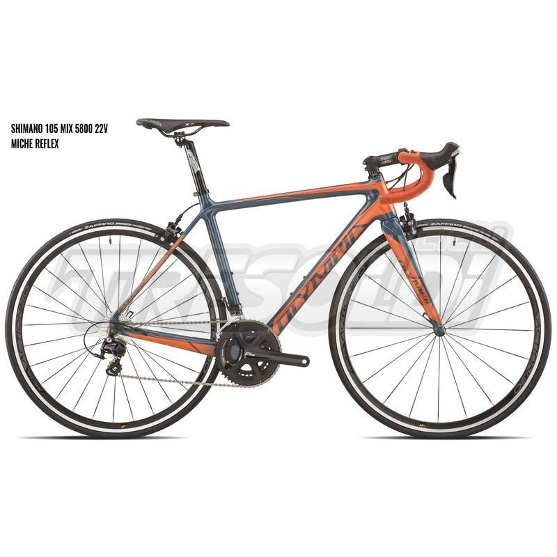 Olympia Ego Shimano 105 22v Arancio