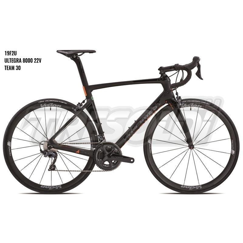 Fondriest Dardo Ultegra 8000 22v Team30 Nero/arancio