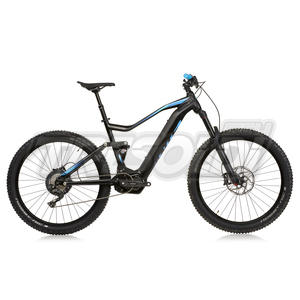 "SANTS E-BIKE E-SF 27,5 "" - PRO - 35 GOLD RL - XT 11V - NERO/BLU"