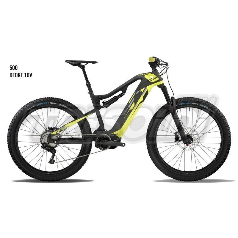 Olympia E-bike Mtb Full E1-x Carbon 8.0 500 27.5