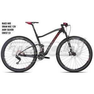 "OLYMPIA F1-XN 29"" '19 - RACE NXE - JUDY SILVER RL - SRAM NXE 12V - ZTR S1 - 04 NERO/ROSSO"