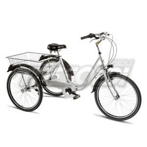"TRS TRICICLO 24"" - ALL. 6V - SILVER"
