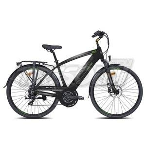 "TORPADO E-BIKE CITY APOLLO 245 U 28"" '20 - 7V - NERO/ANTR/VERDE"