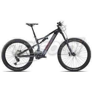 "OLYMPIA E-BIKE MTB FULL EX 900 '21 - SPORT - 29""/ 27.5\""  - 35 GOLD - SXE 12V - 04 NERO/ANTRACITE"