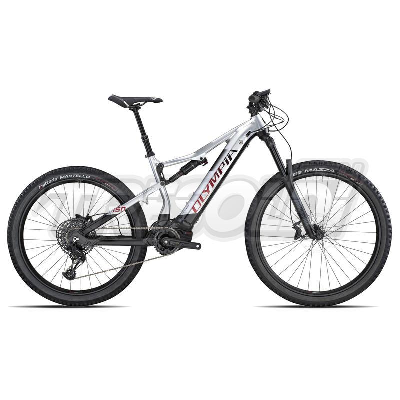 Olympia E-bike Full Genbo  29/27.5+ SXE 12v nero