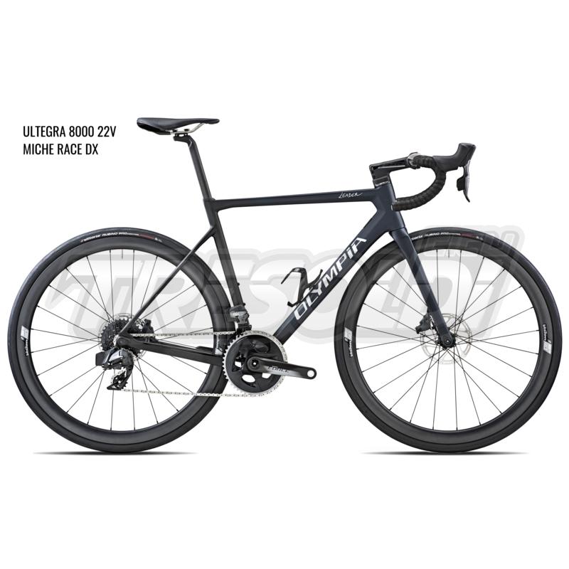 Olympia Leader 2020 Ultegra 22v – Miche Race Dx  Blu/Nero
