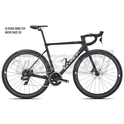 OLYMPIA LEADER '20 - ULTEGRA 8000 - 22V – MICHE RACE DX - 27 BLU/NERO