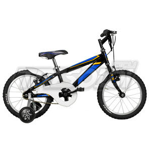"TRS MTB JUNGLE U 16"" - 1V - NERO/BLU"