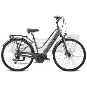 "TORPADO E-BIKE ALTEA 226 D 28"" - BAFANG CENTR. - ALL 8V"