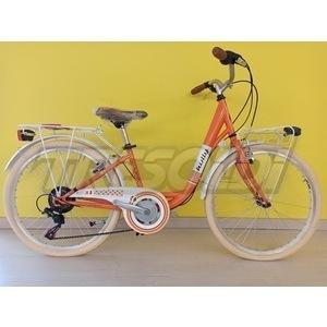 "TECNOBIKE HOLLY D 24"" – 6V - ARANCIO"