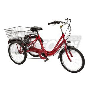 "TRS TRICICLO 24"" - ALL. 6V - ROSSO"
