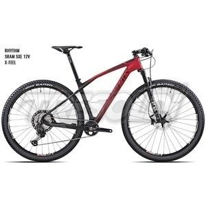 """OLYMPIA IRON 29\"""" '21 - RACE GXE - SRAM GXE 12V - 04 ROSSO/NERO"""