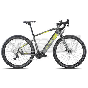 OLYMPIA E-BIKE EXPLORER 630 '21 - APEX 10V - 27 NERO/LIME