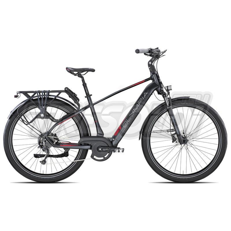 Olympia E-bike Ibrida Mistral 900 X 29 Alivio disc 9V Nero