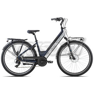"OLYMPIA E-BIKE ROADSTER COMFORT D 28"" '21 - ALL. 7V - 27 NERO/SILVER"