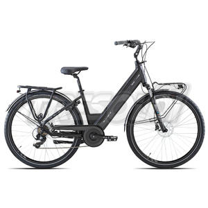 "OLYMPIA E-BIKE ROADSTER COMFORT D 28"" '21 - ALL. 7V - 14 NERO"