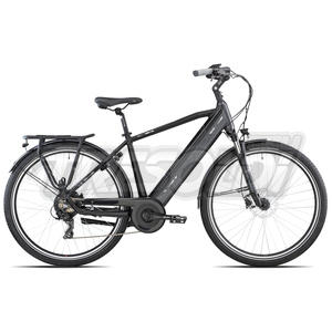 "OLYMPIA E-BIKE SUPER ROADSTER MAN U 28"" '21 - ALL. 7V - 14 NERO/ANTRACITE"